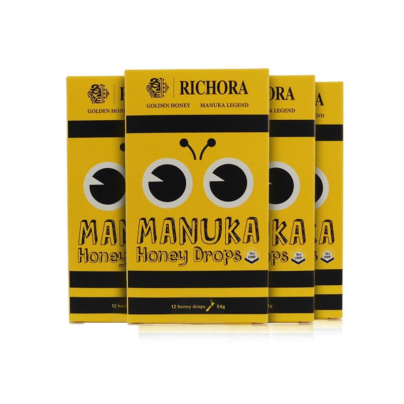 新西兰进口瑞琪奥兰麦卢卡蜂蜜10+ (赠麦卢卡蜂蜜糖4盒)