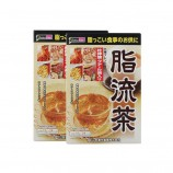 直邮 日本山本汉方 脂流茶 清肠去油 两盒装