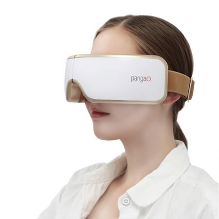 攀高 豪华版液晶显示智能按摩眼镜PG-2404G5·白色
