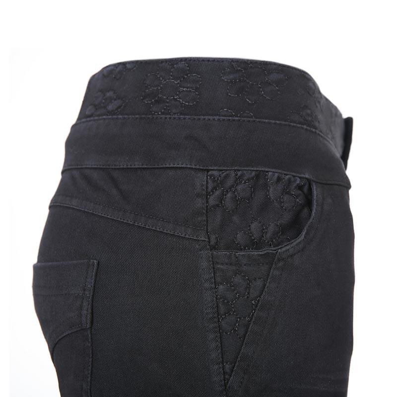 法国洛卡曼亲肤超弹力大码牛仔裤·2条