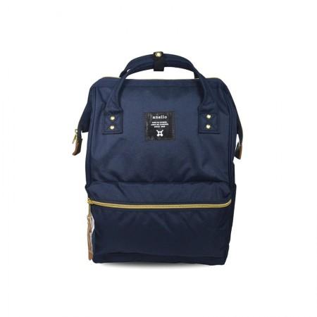 日本直邮 ANELLO 经典款牛津布双肩包 AT-B0193A 多色可选·藏蓝色