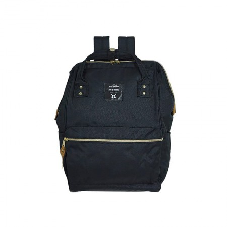 日本直邮 ANELLO 经典款牛津布双肩包 AT-B0193A 多色可选·黑色