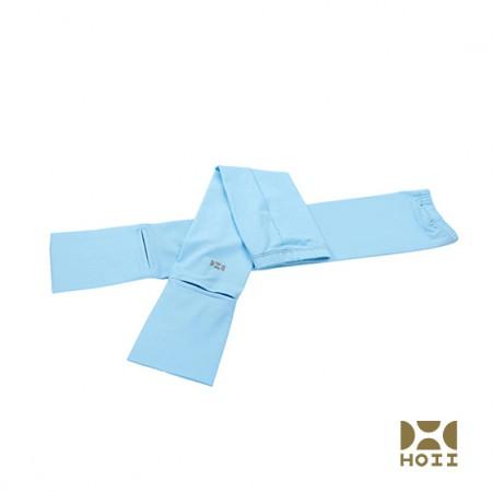 台湾HOII防晒美肤抗UV袖套开车袖套 魔术头巾·蓝色