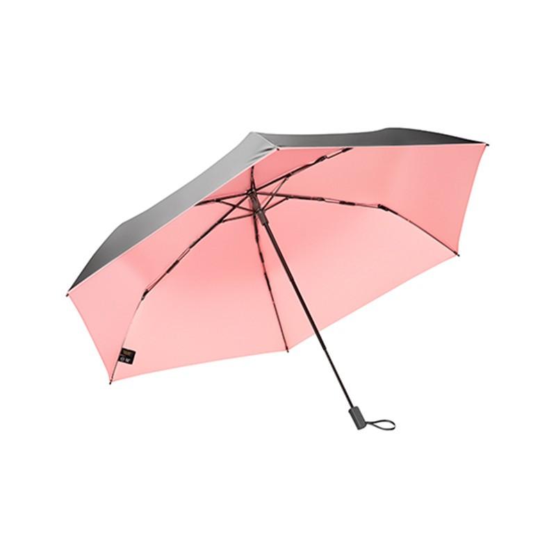 BANANAUNDER蕉下2Air纯色超轻防晒太阳伞三折伞  共同