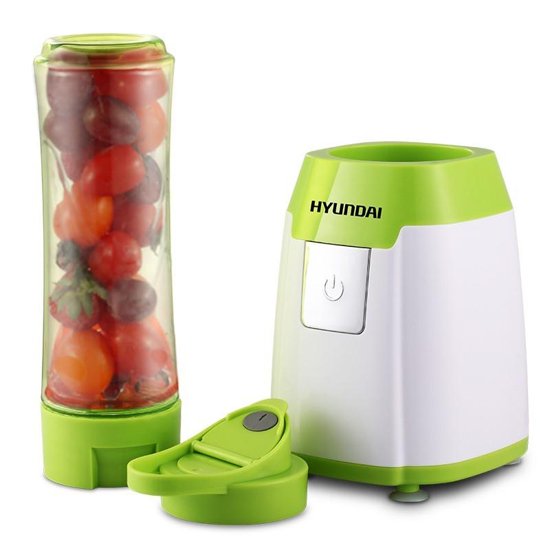 韩国现代便携式榨汁机料理机QC-JB2307·绿色