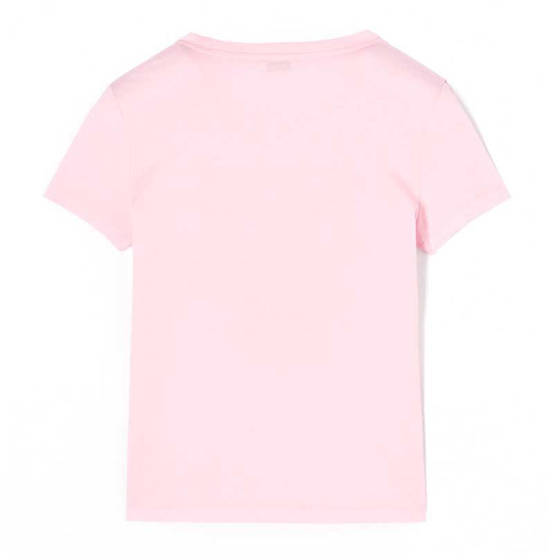 KENZO 高田贤三 女士经典虎头刺绣棉质短袖T恤 粉色 2TS7214YA32