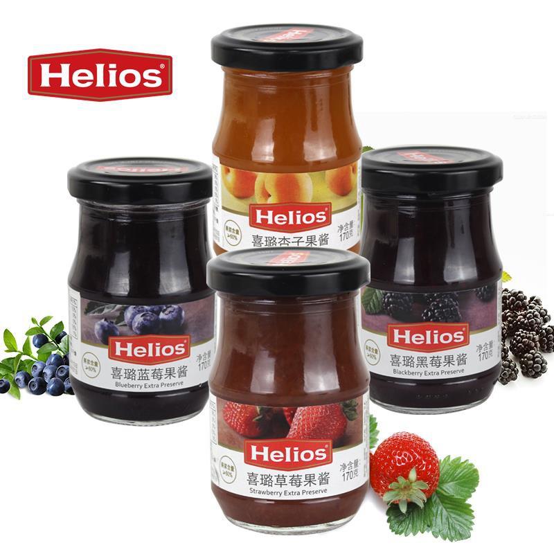 西班牙进口喜璐果酱170g*4瓶(草莓、黑莓、蓝莓、杏子)