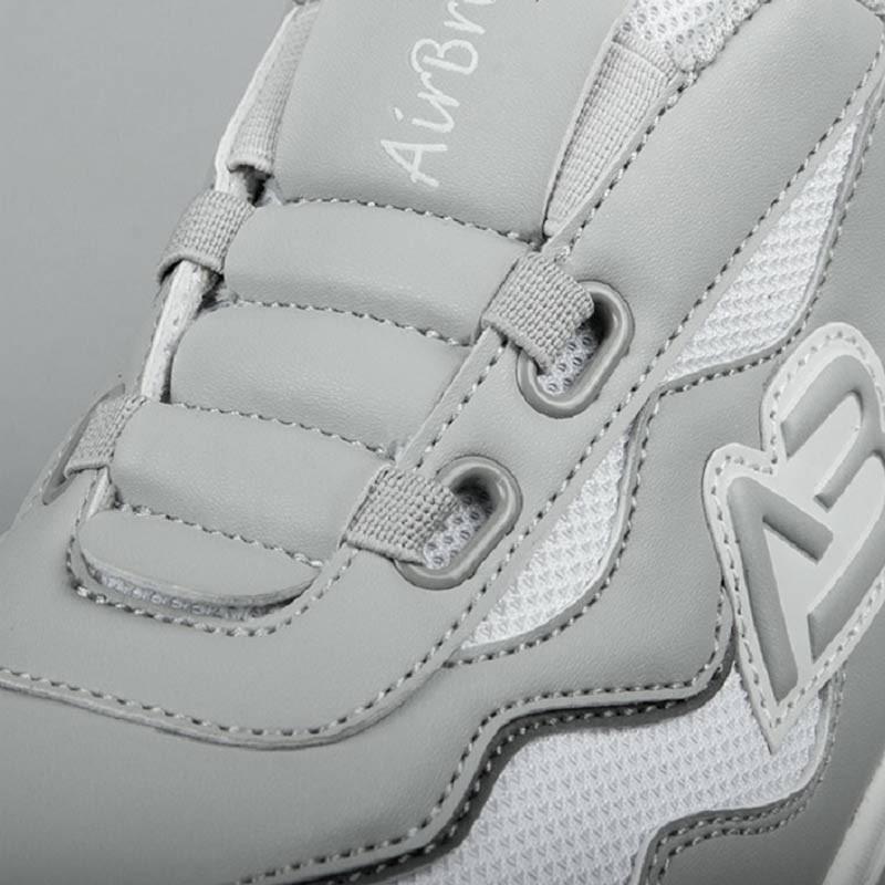 AIRBREATHE男款休闲健步鞋·灰色