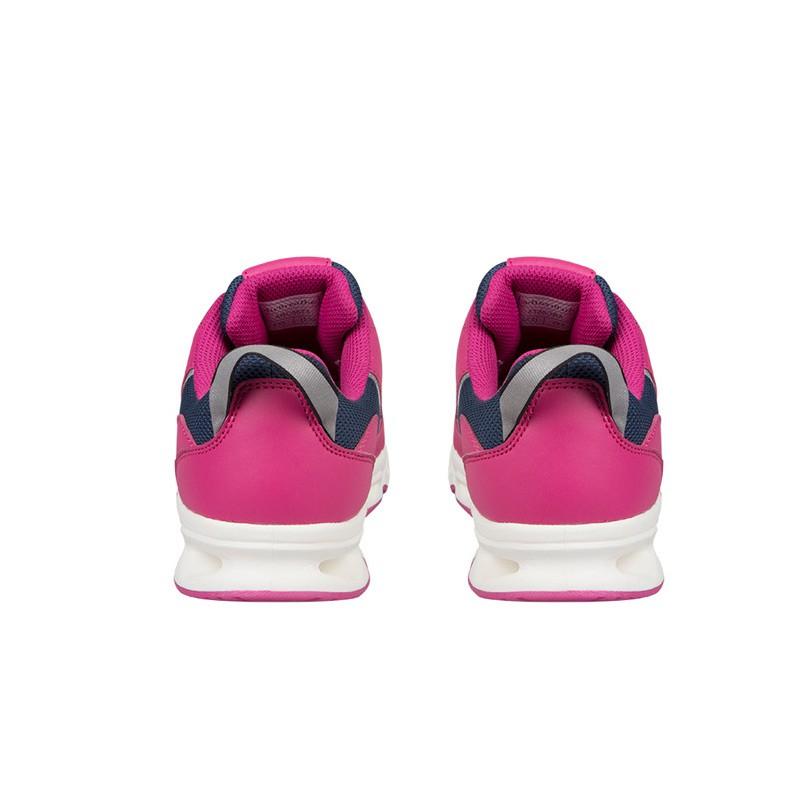 AIRBREATHE女款休闲健步鞋·玫红色