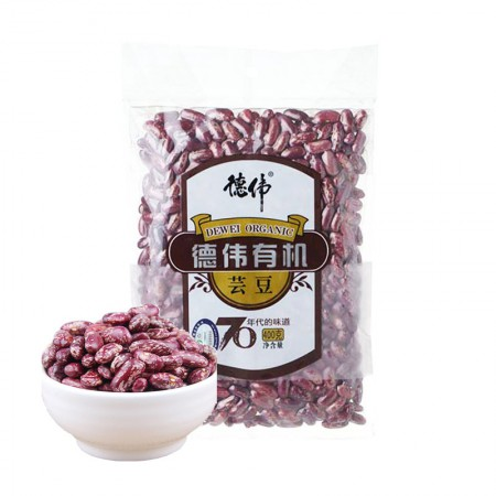德伟有机芸豆特惠组6*400克
