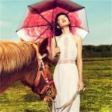 BANANAUNDER蕉下小黑伞雨伞双层彩胶防紫外线太阳伞【迪丽热巴同款】洛荷