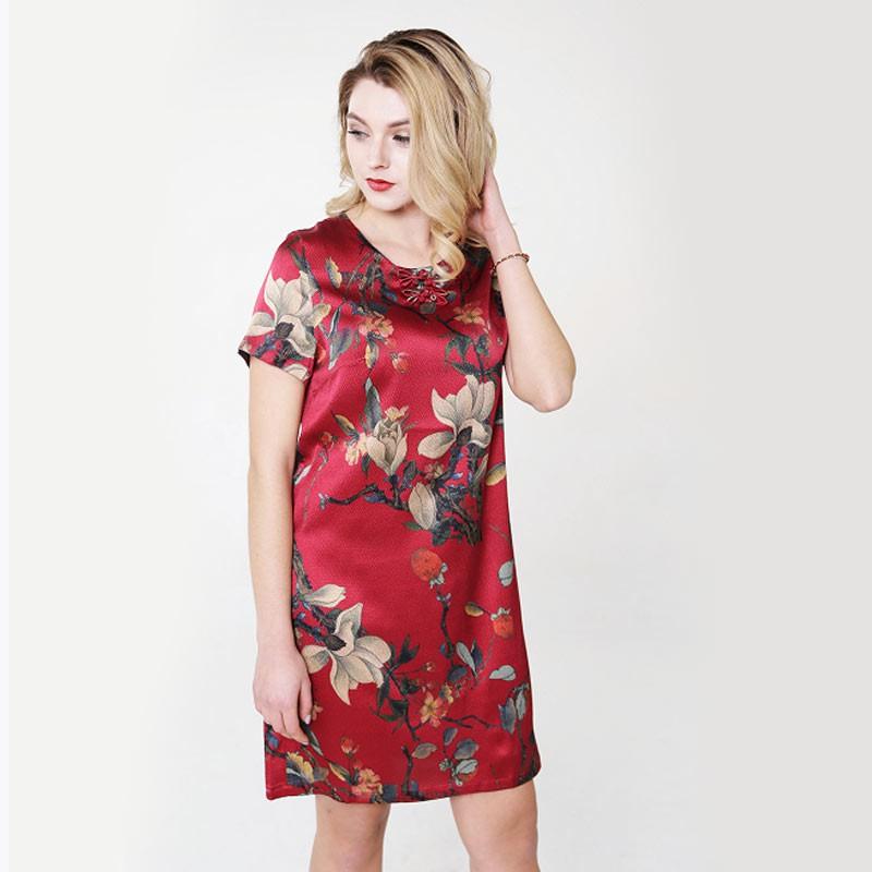 英国JANCYBONY珍珠缎桑蚕丝连衣裙·2条