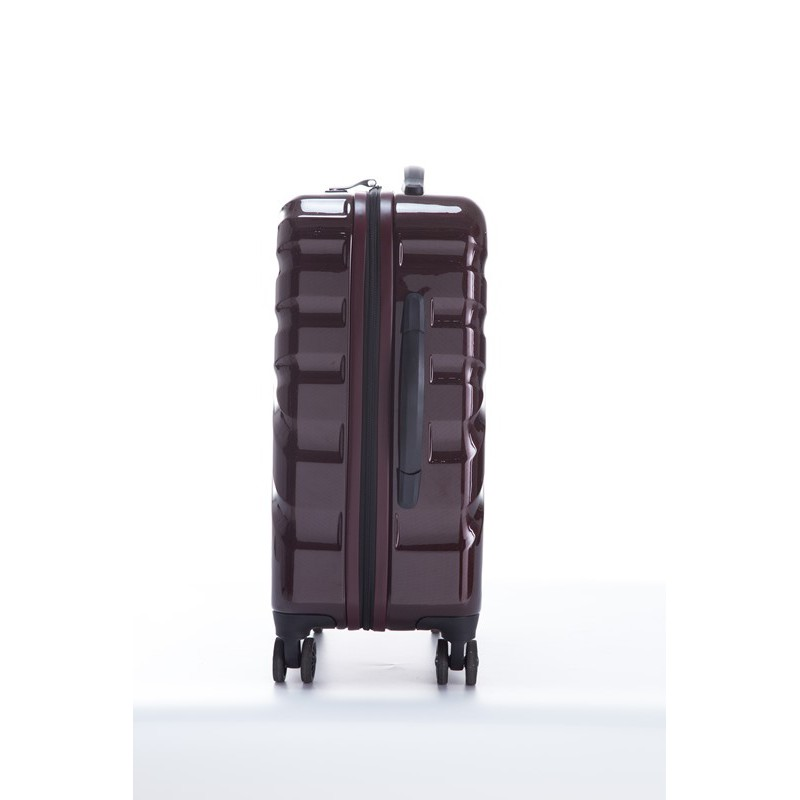 CROWN 皇冠拉链箱 C-F5224-20寸-网络格纹红色