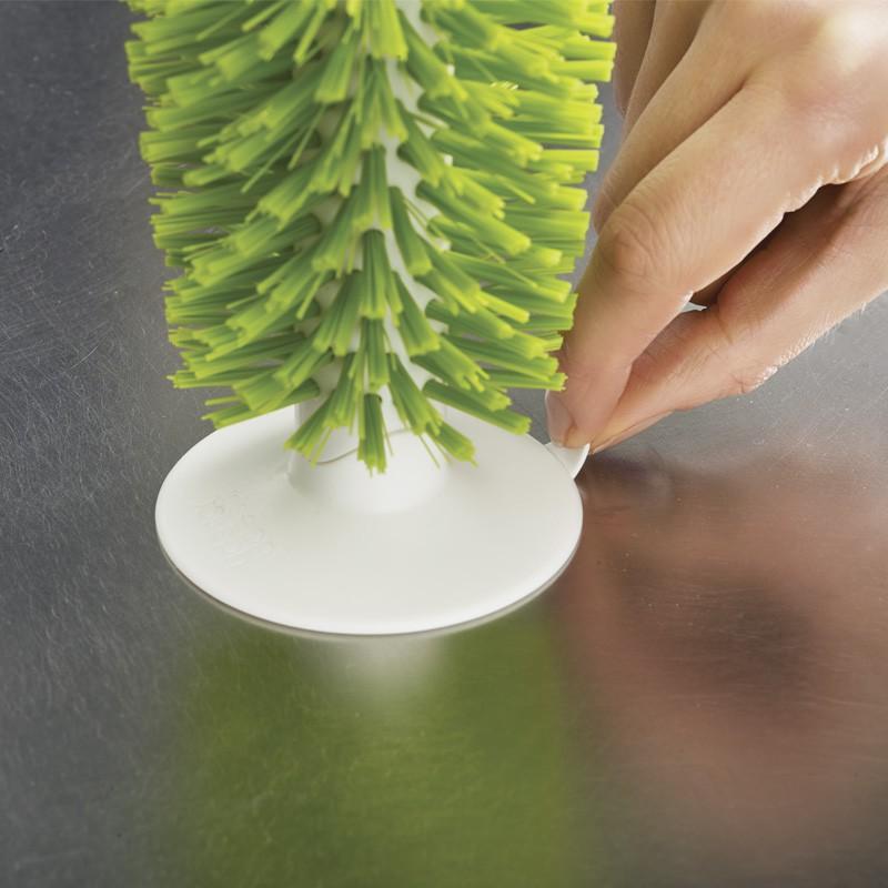英国进口JOSEPH JOSEPH 立式吸盘杯刷·绿色