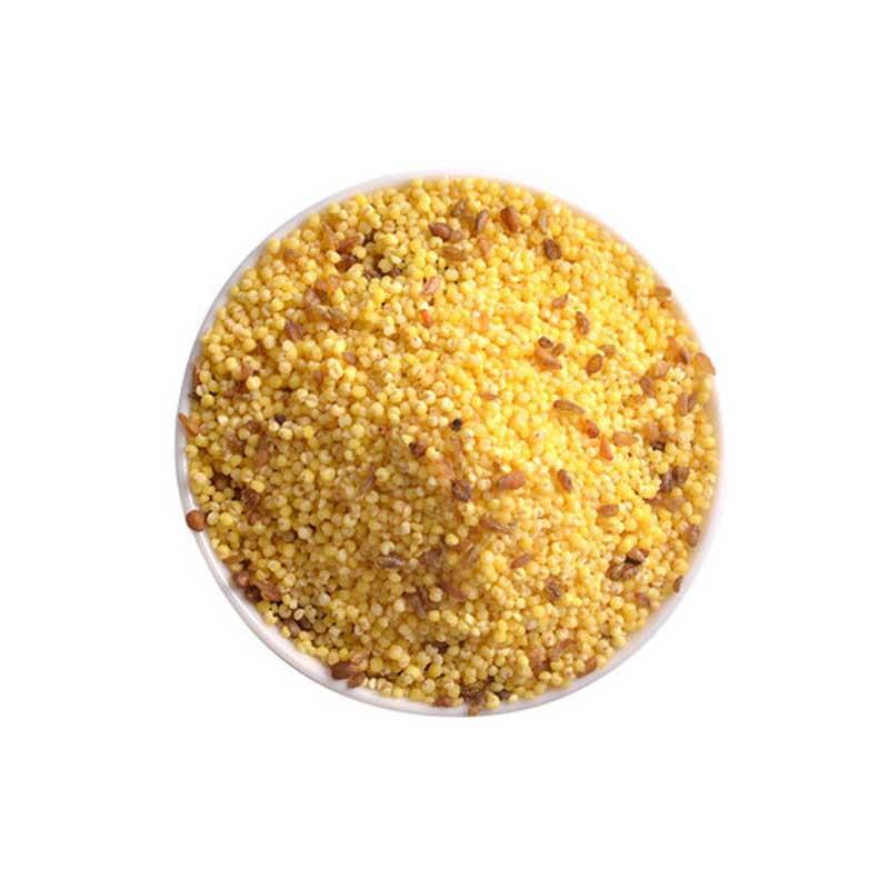 寿之本石磨碾制免洗苦荞小米1.5kg