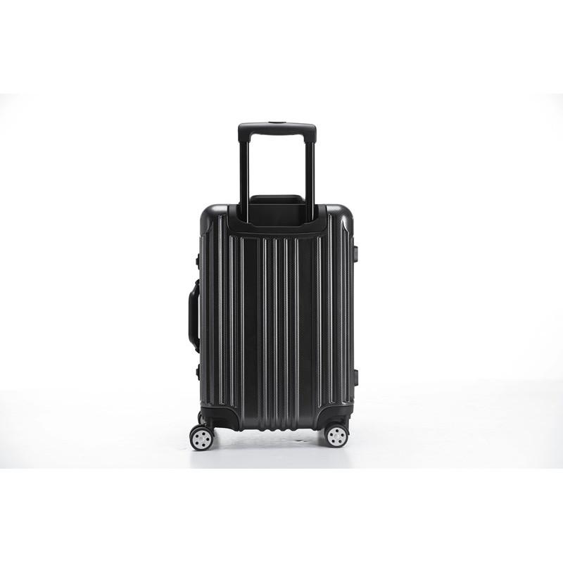 CROWN 拉链箱 C-F5338-25寸·黑加银