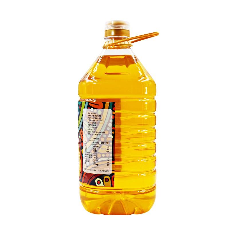 戈壁工坊 冷榨葵花籽油5L/1瓶(非转基因)