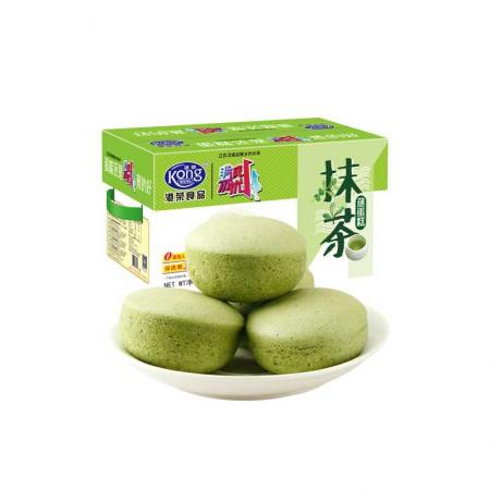 港荣蒸蛋糕抹茶味4斤/箱