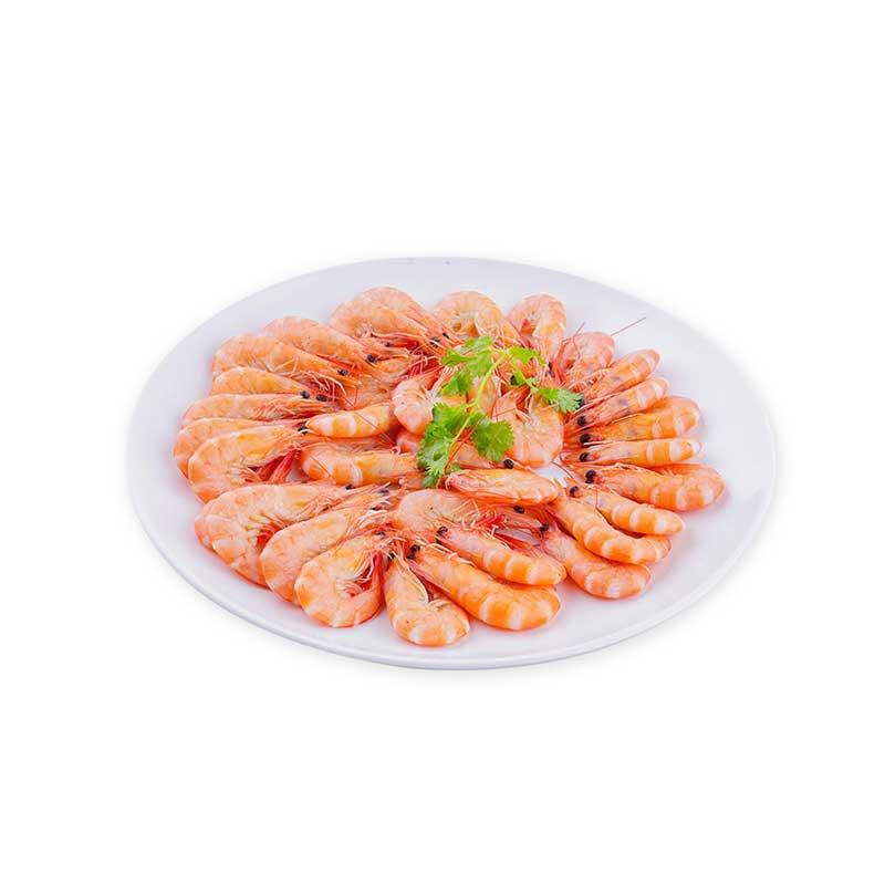 大洋世家 厄瓜多尔白虾·2000g*1盒