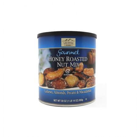 美国进口kirkland蜂蜜香烤混合坚果仁蓝罐850g