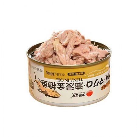 大洋世家 油浸金枪鱼罐头·185g*8罐