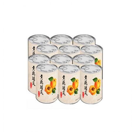 悦品熹 糖水黄桃罐头·425g*12罐