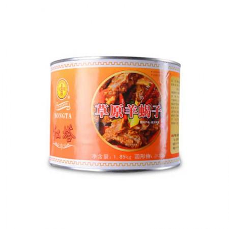 红塔 带骨羊肉罐头·1850g*1罐