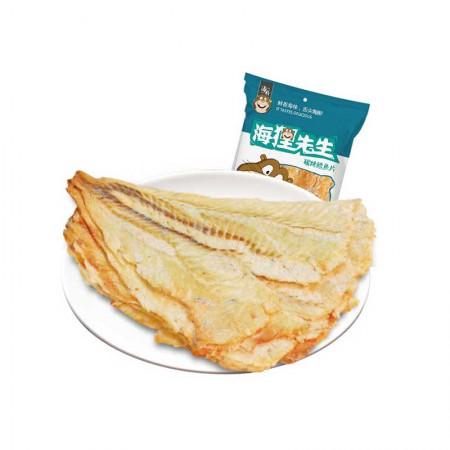 海狸先生 碳烤鳕鱼片·58g*6袋