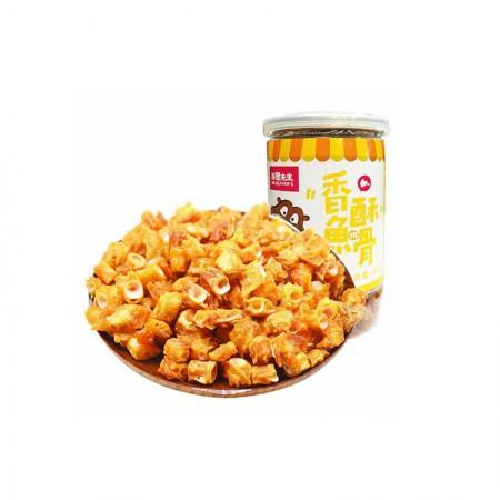 海狸先生 香酥深海鱼骨·100g*4罐
