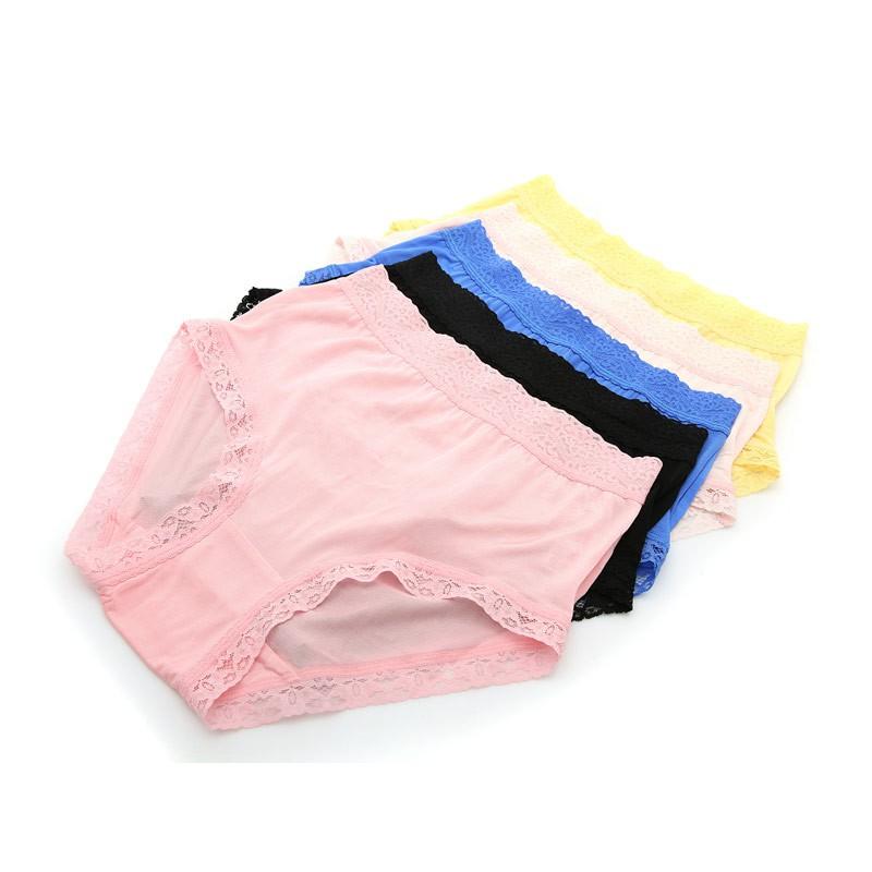 阙兰绢优柔淡雅100%蚕丝裤·5条·女