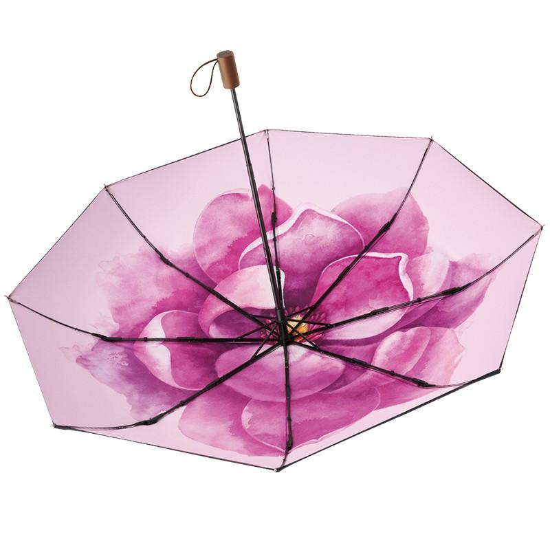 BANANAUNDER蕉下丹姬防晒小黑伞折叠晴雨伞女防紫外线太阳遮阳伞