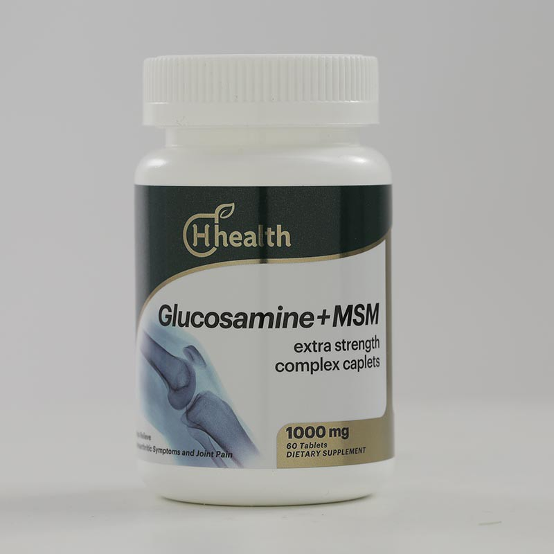 跨境品加拿大原装进口H Health葡萄糖胺MSM多效营养片组合