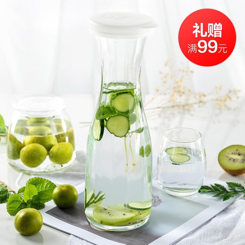 DURALEX多莱斯 法国进口玻璃杯6只装360ml 创意斜纹1054A