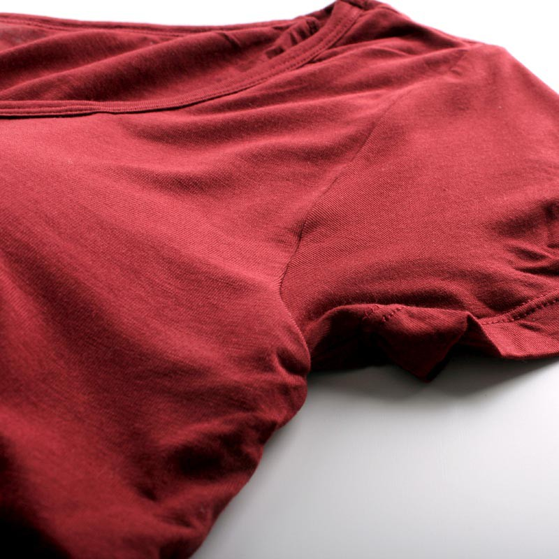 SEERUU适语 莫代尔Bra-T短袖T恤两件组  加赠冰丝隐形船袜两双