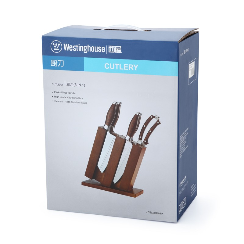 美国西屋 雅典系列刀具六件套WKW-6001Z