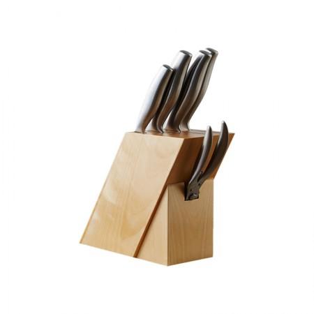 安全锋利 功能齐全德式六件套不锈钢刀