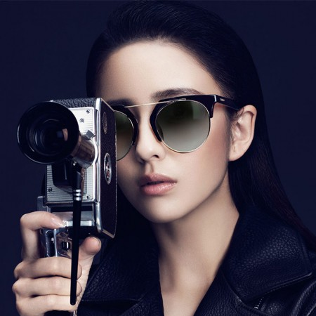 派丽蒙太阳镜佟丽娅同款11040·黑灰色