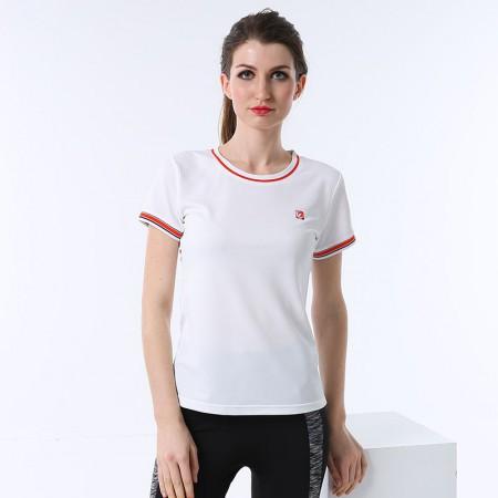 恒源祥Fazeya抑菌快导圆领女士T恤 CY1001·白色