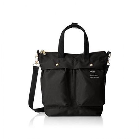 日本直邮 anello 时尚2用小手提包/单肩挎包·黑色