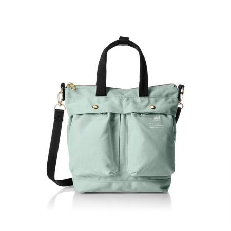 日本直邮 anello 时尚2用小手提包/单肩挎包·橄榄绿