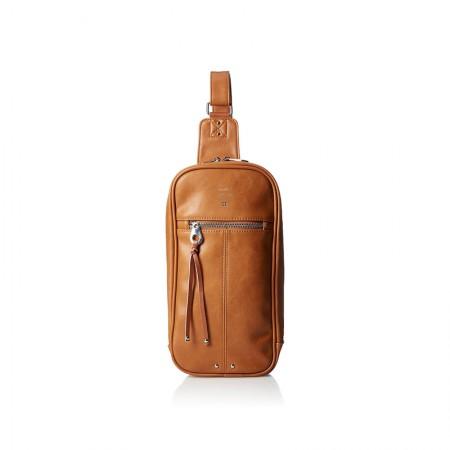 日本直邮 ANELLO 皮革单肩斜跨包 AU-B1515 多色可选·棕色