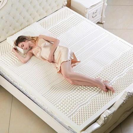 斯里兰卡原装进口IYOO七区按摩7.5公分乳胶床垫1.8米