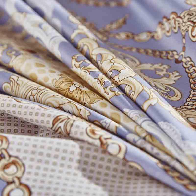 梦洁家纺优雅弥赛亚缎纹十件套