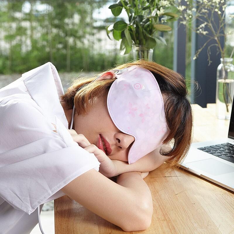 Flexwarm USB蒸汽美颜护眼罩·嫩粉