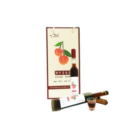 岭南特色荔枝酒礼盒装(375ml*2瓶)