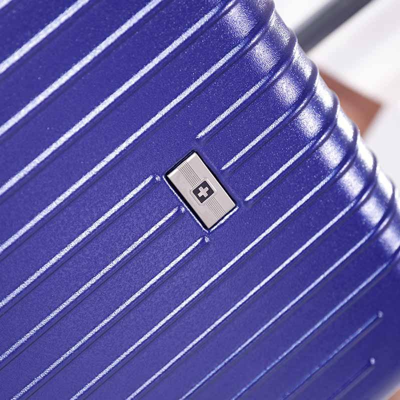 SWISSWIN炫彩24英寸拉杆箱套组·蓝色