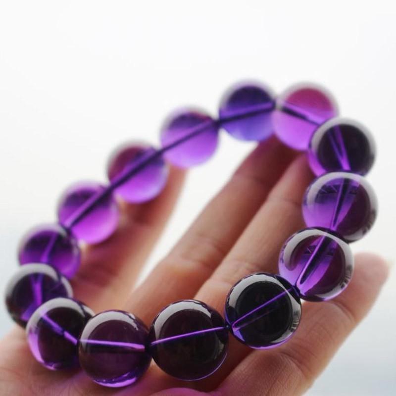 华翠缘天然紫水晶手链