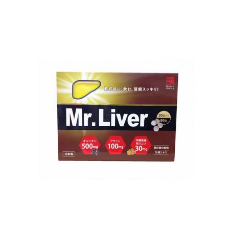 和汉医药 Mr.Liver肝先生 护肝醒酒不头疼无宿醉 1盒20袋