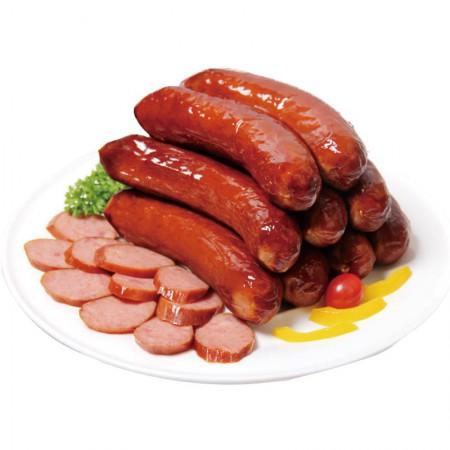 克拉古斯 精制红肠+佐治盐水肠·200g*5袋+360g*2根