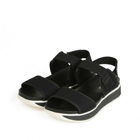 缇缇柏嘉 / bagatt意大利设计进口平跟女凉鞋11CI49223150301·黑色